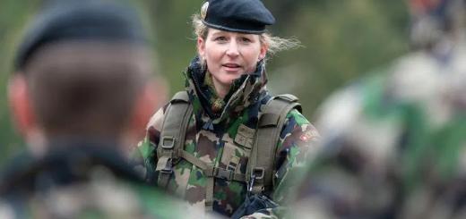 У швейцарській армії жінкам почнуть видавати жіночу спідню білизну, а не чоловічу